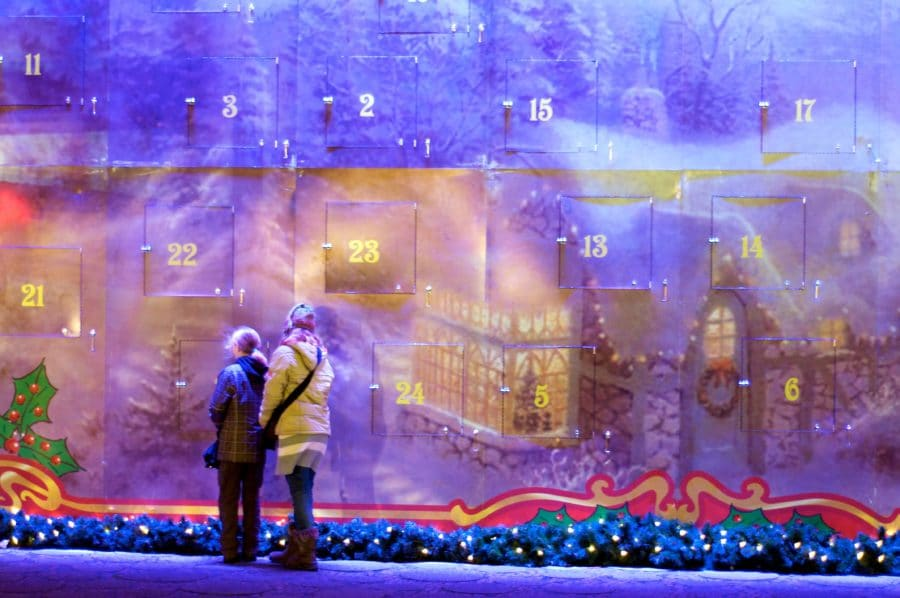 Example of a massive Advent Calendar